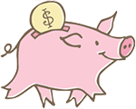 Dear Piggy Bank financial planning for women logo